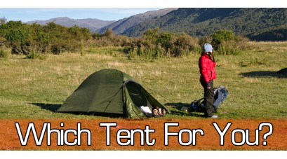 Choosing Gear - Tents