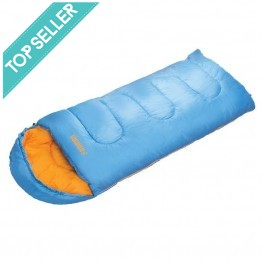 Roman Junior Sleepout Kids Sleeping Bag -  Blue/Orange