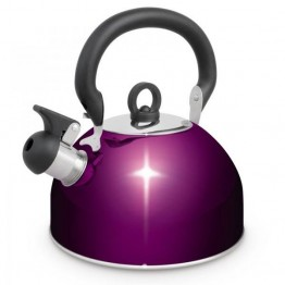 Campfire 2.5L Whistling Kettle - Purple