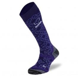 BRBL Bergman Women's Ski Socks - Purple