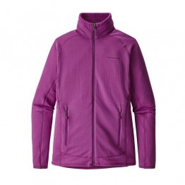 Patagonia Women's R1 Full Zip Jacket - Ikat Purple