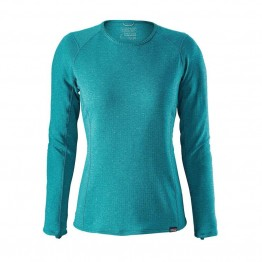 Patagonia Women's Capilene Thermal Weight Crew  - Straight Blue