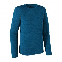 Patagonia Men's Merino Daily Long Sleeve Top - Underwater Blue - Large