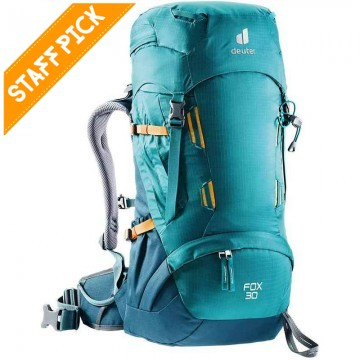 Deuter Fox 30L - Kid's Hiking Pack - Fire Arctic