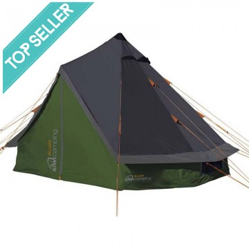 Kiwi Camping Bellbird Teepee Tent 8 Person