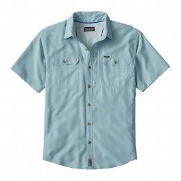 Patagonia Men's Sol Patrol II Short Sleeve Shirt - Tubular Blue - Medium