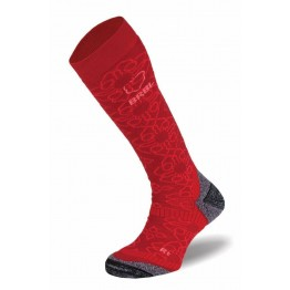 BRBL Bergman Women's Ski Socks - Red