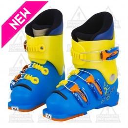 Lange T Kid 40 17.5 Blue/Yellow Ski Boot