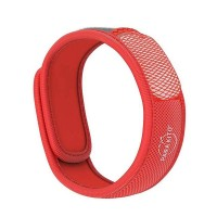 Parakito Adult Mosquito Wristband - Red