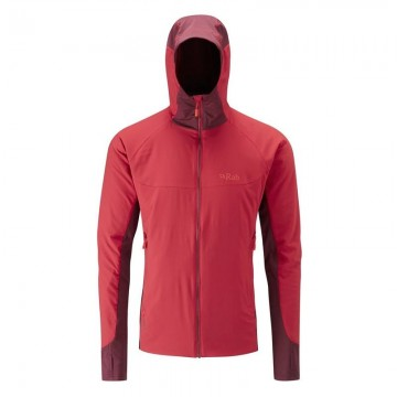 Rab Men's Alpha Flux Jacket - Cayenne