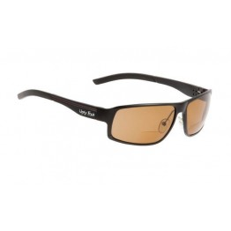 caeec41f9246 Ugly Fish Avalanche Matte Black Bifocal Sunglasses - Brown Polarised Lens  +1.50