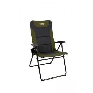 Oztrail Resort 5 Position Jumbo Reclining Chair - Green