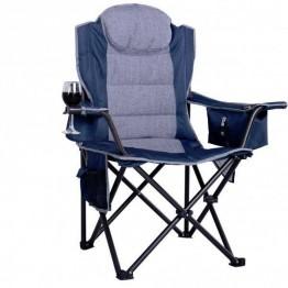 Oztrail Big Boy Arm Chair - Blue