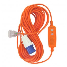 Goldair Inline RCD Camp Plug 15m Cord