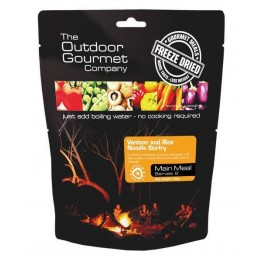 The Outdoor Gourmet Company Venison and Rice Noodle Stirfry190g