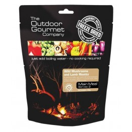 The Outdoor Gourmet Company Wild Mushroom N Lamb Risotto 190g