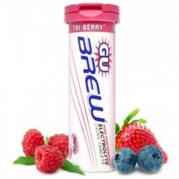 GU Electrolyte Brew Tablets Triberry