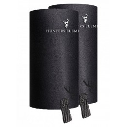 Hunters Element Gravel Guard Gaiters - Zips - Black