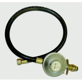 Gasmate 2kg POL LPG Regulator 90° with 600mm Hose