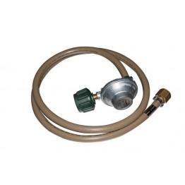 Gasmate 2kg QCC LPG Regulator 90° with 1.5m Hose