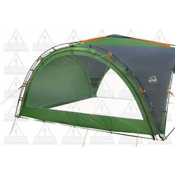 Kiwi Camping Savanna Shelter 4 & Deluxe - Full PVC Clear Wall Curtain