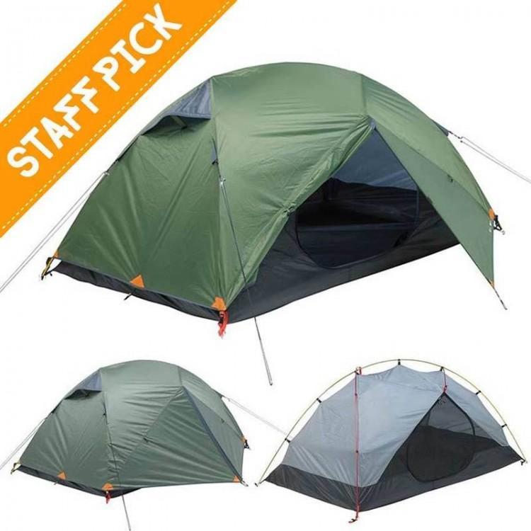 new concept fed62 c176b Kiwi Camping Weka 3 Adventure Tent