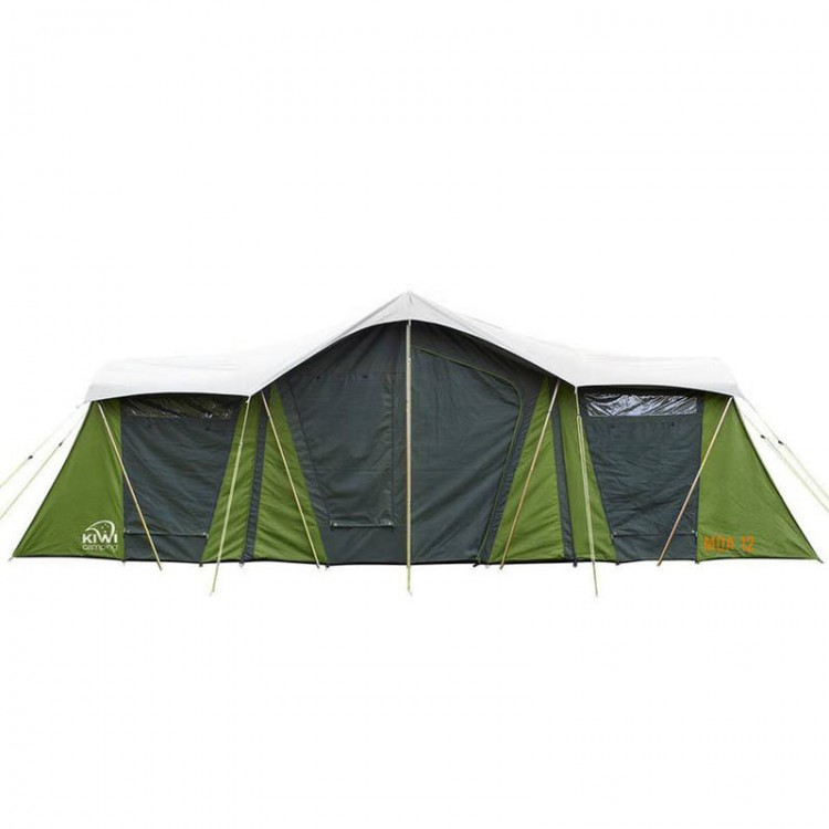 Kiwi Camping Moa 12 Canvas Tent Complete Outdoors Nz