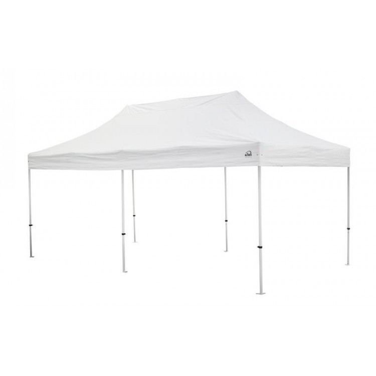 Kiwi Shelter 6x3 Market Canopy Gazebo Roof Frame White