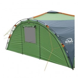 Kiwi Camping Savanna Shelter Deluxe - Solid Wall HEAVY DUTY