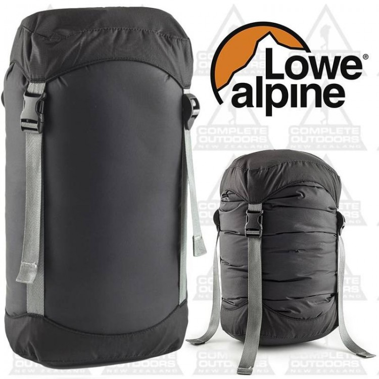Buy Lowe Alpine Airstream Compression Sack - Black - Extra Large (XL) - Complete Outdoors NZ & Buy Lowe Alpine Airstream Compression Sack - Black - Extra Large (XL ...