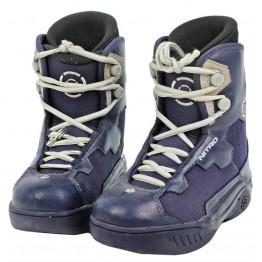 GOOD CONDITION Nitro UK4 Mondo 23 Snowboard Boots