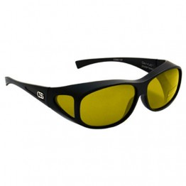 OverSpex Mezzo Raven & Amber Polarised Sunglasses