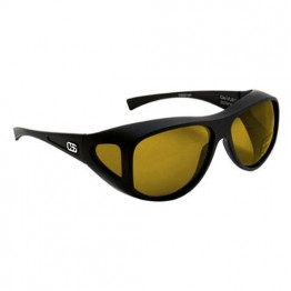 OverSpex Grande Raven & Amber Polarised Sunglasses