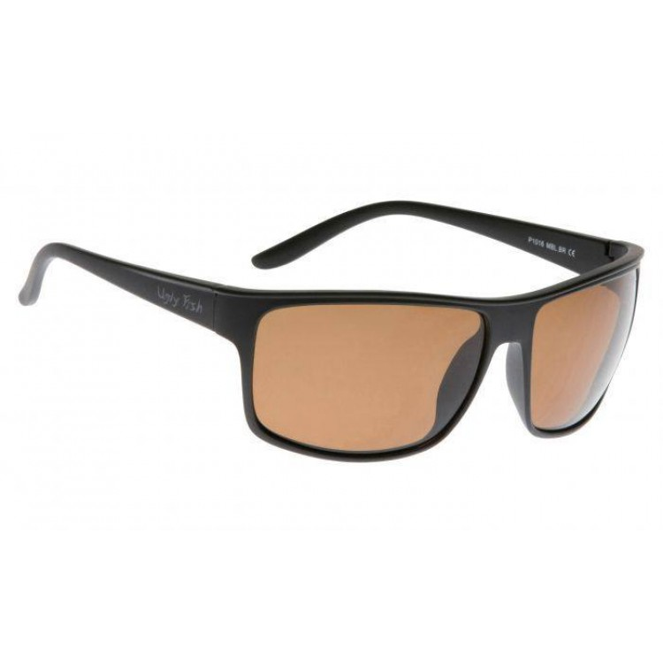 c64ce65cfd Buy Ugly Fish Matte Black Frame Sunglasses - Brown Polarised Lens -  Complete Outdoors NZ