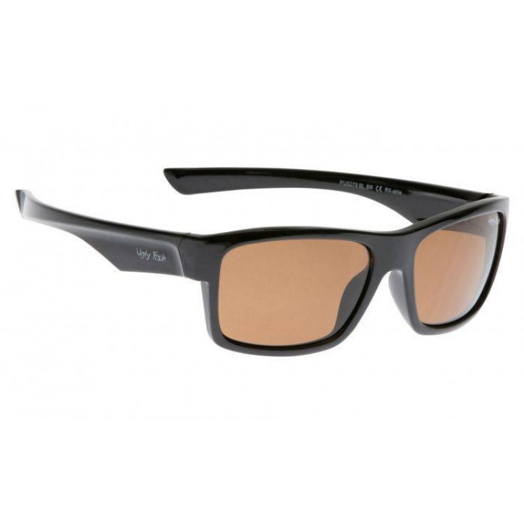 23b31711e1cd Buy Ugly Fish Shiny Black Frame - Brown Polarised Sunglasses - Complete  Outdoors NZ