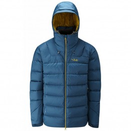 RAB Men's Axion Down Jacket - Ink / Mimosa
