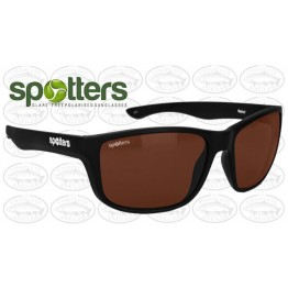 "Spotters ""Rebel"" Black Matte Sunglasses & Polarised Photochromic Halide Lens"