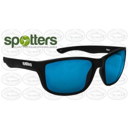 "Spotters ""Rebel"" Black Matte Sunglasses & Polarised Ice Lens"