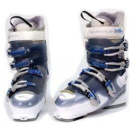 Rossignol Xena 8 Size 27 Blue Ski Boots NEW