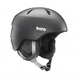 Bern Weston Jr Ski Helmet - Matte Black