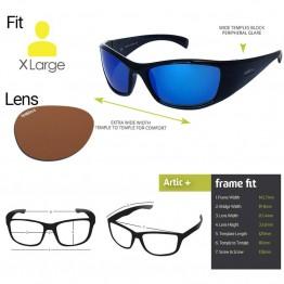 "Spotters ""Artic+"" Black Sunglasses & Polarised Photocromatic Penetrator Lens"