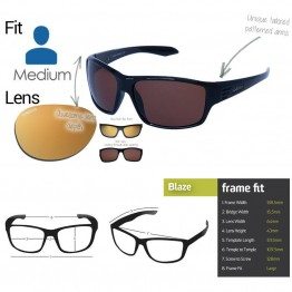 "Spotters ""Blaze"" Glass Lens Polarised Gold Mirror Lens"