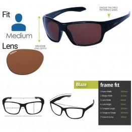 "Spotters ""Blaze"" Black Sunglasses & Polarised Photocromatic Penetrator Lens"
