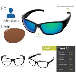 "Spotters ""Chaos"" Black Matte Sunglasses & Polarised Photochromic Penetrator Lens"