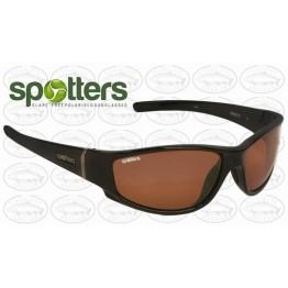 "Spotters ""Cristo"" Black Gloss Sunglasses & Polarised Penetrator Lens"