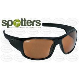 "Spotters ""Droid"" Black Gloss Sunglasses & Polarised Photocromatic Penetrator Lens"