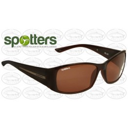 "Spotters ""Ellie"" Brown Gloss Sunglasses & Polarised Photocromatic Penetrator Lens"