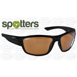 "Spotters ""Nitro"" Black Gloss Sunglasses & Polarised Penetrator Penetrator Lens"
