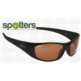 """Spotters """"Pivot"""" Black Gloss Frame Penetrator Lens Crown Glass"""