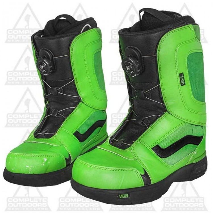 Lubricar Identidad Júnior  Vans Encore Green Size 26.5 Snowboard Boots - Complete Outdoors NZ